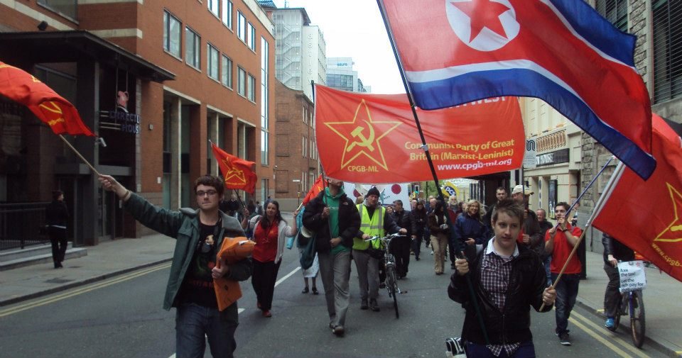 Red Youth and the party on Manchester May Day