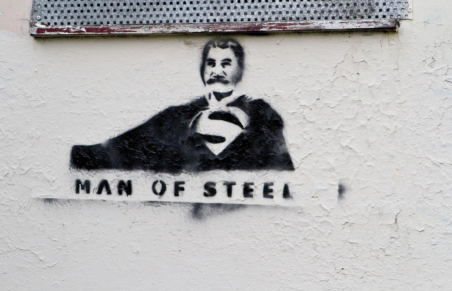Stalin Stencil, Man Of Steel