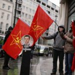 CPGB-ML at Syrian Anti-War Demonstration
