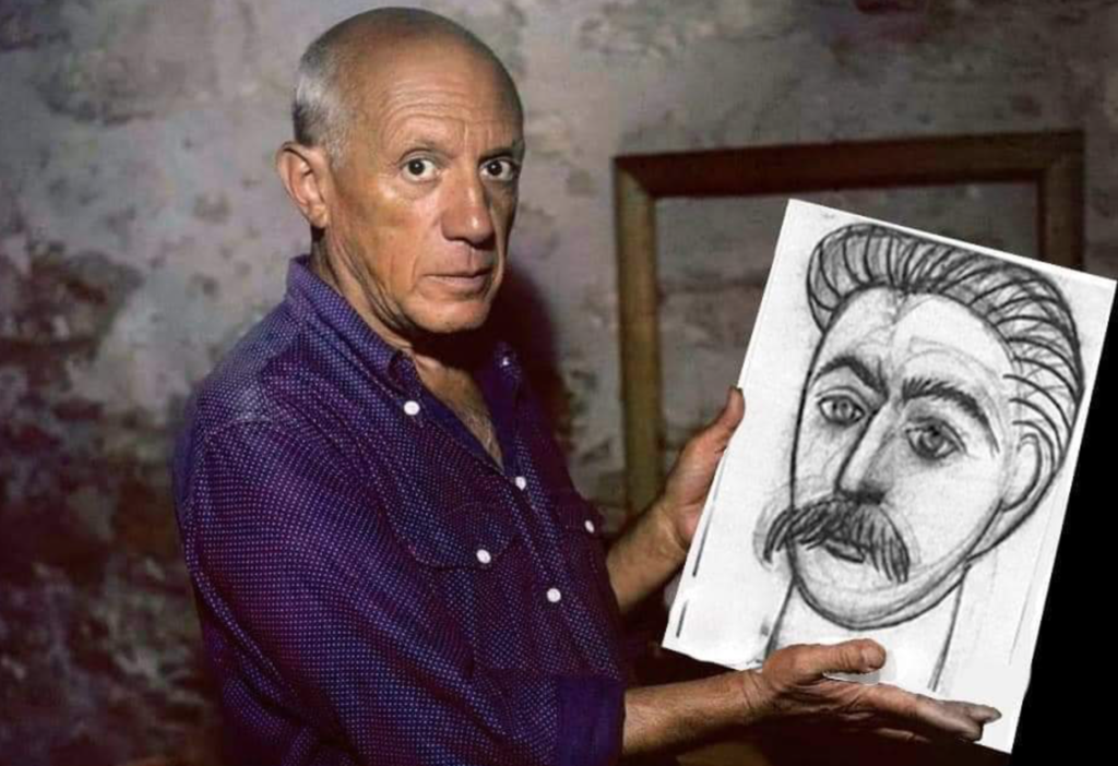 Intellectuals the world over and communist artists, such as Picasso, sent tributes and expressed their sorrow at the loss of the father of the people.
